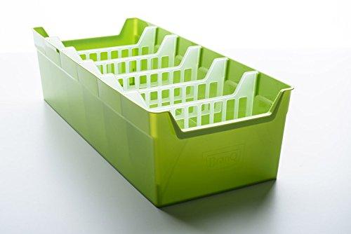 BranQ Küchenorganizer, Plastik, grün, 35 x 34.39 x 14 cm