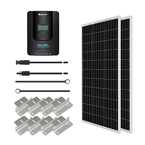 Renogy 200W 12V Mono Solarmodul Solar-Set Solaranlage Solarenergie...