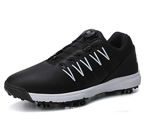 Chaussures de Golf à Crampons Imperméables pour Hommes...