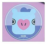 [公式] BT21 マウスパッド PVC mouse pad キャラクター かわいい パソコン TATA RJ CHIMMY COOKY SHOOKY MANG KOYA BTS 防弾少年団 (MANG)