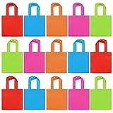 THE TWIDDLERS 30 Bolsas de Fiesta No Tejidas, Bolsa de Regalo 20cm| Ecológicos y Reutilizables| Cumpleaños Niños, Bodas, Navidad, Halloween, Chuches, Souvenirs, Juguetes Pequeños, Regalos.