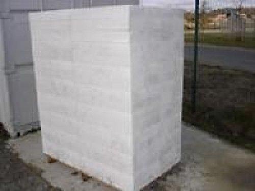 1 Palette Porenbeton Plansteine PP2/0,4-8,5 x 19 x 62,5 cm - 15,00 m² - inkl. 25 Kg Kleber Porenbetonsteine, frachtfrei