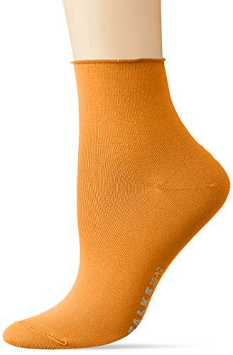 FALKE Damen Cotton Touch Socken, Orange (Mandarin 8216), 35-38