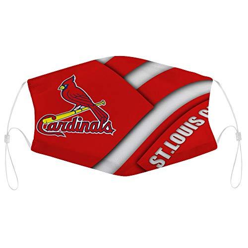 St. Louis Cardinals Baseball Team Logo Bandanas Face Mask Headwear Balaclava Face Cover Neck Gaiter for Outdoors, Sports