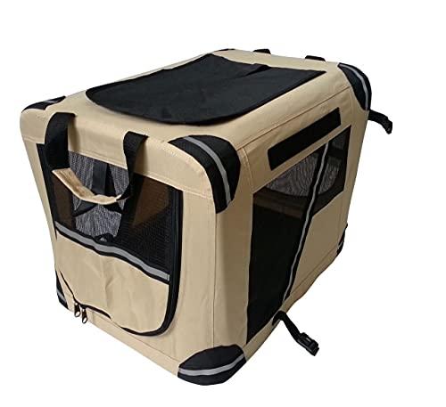 TrendLine Transportbox 60 x 45 x 40 cm Hundetransportbox Tiertransportbox