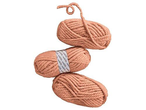 CRELANDO Strickgarn Manuela, 3 x 100 g Ideal auch für kuschelig weiche Jacken und Pullover