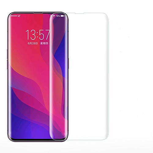 U Believe Tempered Glass Combatible for Oneplus 7 Pro Advanced Border-less Full Coverage 3D Screen Protector with Easy installation kit- Transparent