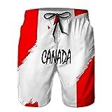 Mens Running Fashion Beach Shorts Pantalones Bandera de Estilo Grunge XL