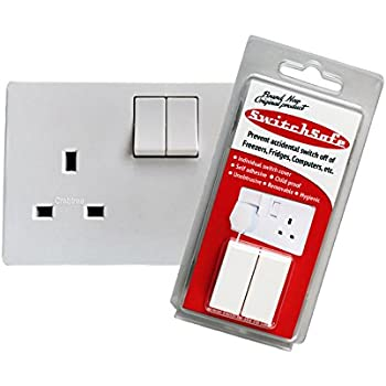 SwitchSafe Model 2 Switch Protector/Guard/Cover to Prevent Accidental Switch Off