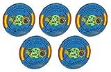 Gemelolandia Pack 5 Pins de Solapa Operación Balmis 2020 Estado de Alarma