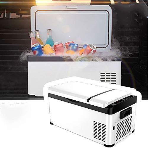 NBXLHAO Grand RéFrigéRateur De Voiture, -25 ° C, Tension / AC220V- DC12V / 24V, MéNage, Amovible, Haute Performance, ContrôLe De Logiciel D'Application,20L
