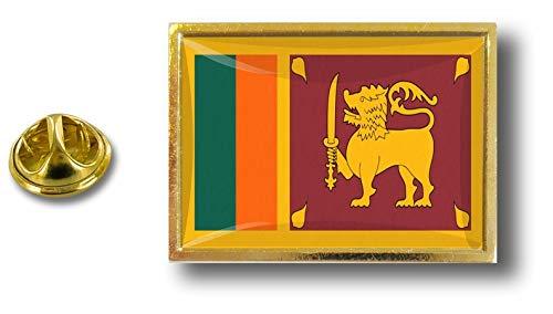 Akacha pin flaggenpin Flaggen Button pins anstecker Anstecknadel sammler sri Lanka