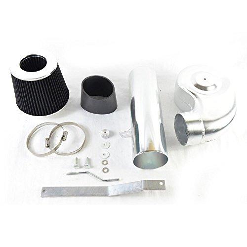 MILLION PARTS Short Cold Air Intake Black Pipe Filters System Black fit for 1988 1989 1990 1991 1992 1993 1994 1995 C1500 C2500 K1500 K2500 4.3L 5.0L 5.7L V6 V8
