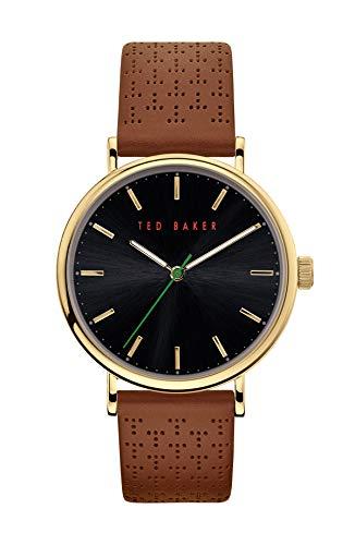 Ted Baker MIMOSAA Reloj de cuarzo de acero inoxidable para hombre