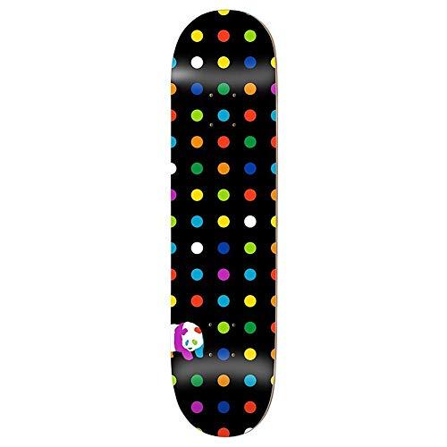 Enjoi Dots Hyb Skateboard Deck 8.25 inch Black