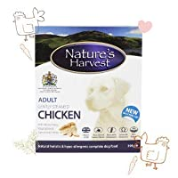 WET DOG FOOD FOR SMALL AND LARGE DOGS. The Natures Harvest Wet Dog Food Chicken and Brown Rice combination is Wheat-Gluten Free, perfect for improving the overall gut health and mood of your dogs. An easy-to-chew-and-digest dog food that contains no ...