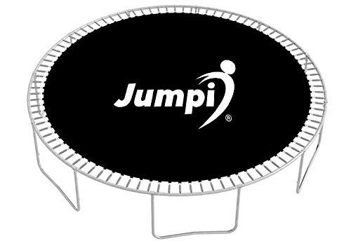 Generic5 Colchoneta de trampolín 8FT, 10FT, 12FT, 14FT JUMPI, Negro, Resistente, trampolín, diversión al Aire Libre, Varios tamaños, Duradero, Accesorios de trampolín (8 FT 252 cm)