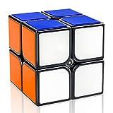 D-FantiX Gan Speed Cube 2x2, Gan 2x2 Speed Cube 2x2x2 Magic Cube Puzzle Black
