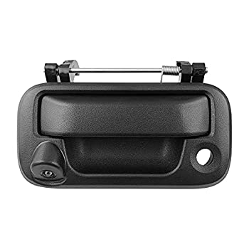 LEADSIGN Tailgate Handle with Rear View Backup Camera Replacement for Ford F150  2005-2014 ,F250 2008-2016 ,F350 2008-2016 ,F450 2008-2016 ,F550 2008-2016 (RCA Connector)