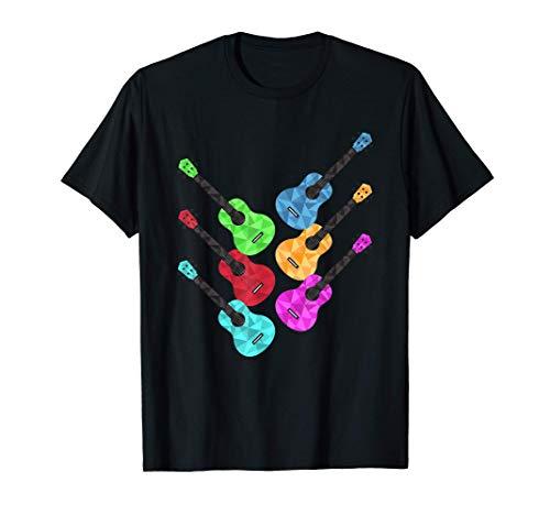 Guitarras Músico Vintage Camiseta