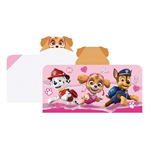 Paw Patrol Hooded Towel Girls Caring Missions - Skye, Chase and Marshall