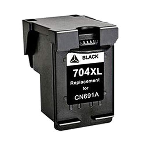 Adecuado para cartucho de tinta HP 704XL y Deskjet Ink Advantage 2010-K010a 2060-K110a CN692A Cartucho de tinta de impresora negro, rojo, amarillo, azul, negro1