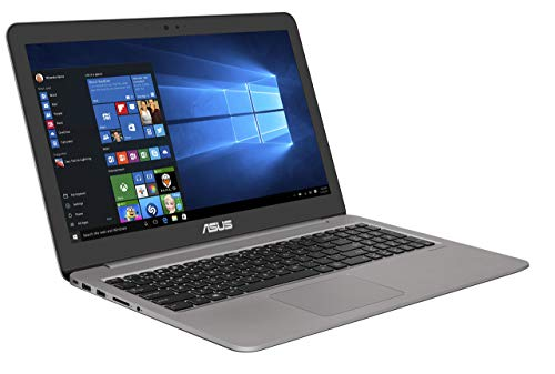Asus Zenbook UX510UW CN051T 396 cm 156 Zoll FHD matt Laptop Intel Core i7 7500U 16GB RAM 256GB SSD 1TB HDD NVIDIA GeForce GTX960M Win 10 grau Generaluberholt