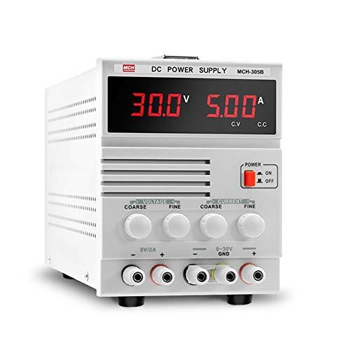 Fuente de alimentación lineal MCH-305B Reparación de teléfonos portátiles con transformador 30V 5A ajustable (Size : 110V)