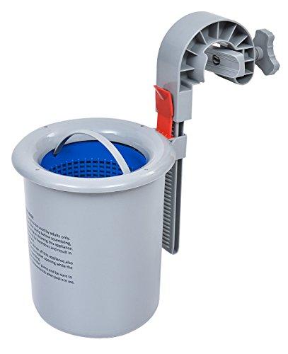 Jilong 290727 Skimmer-Superficie para Piscinas autoportantes, Gris/Azul, 40x19x18 cm
