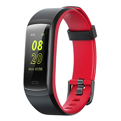 Willful Pulsera de Actividad, Pulsera Inteligente con Pulsómetro Reloj Inteligente Impermeable IP68 Pulsera para Deporte Pulsera Actividad Inteligente para Mujer Hombre para Android iOS Teléfono
