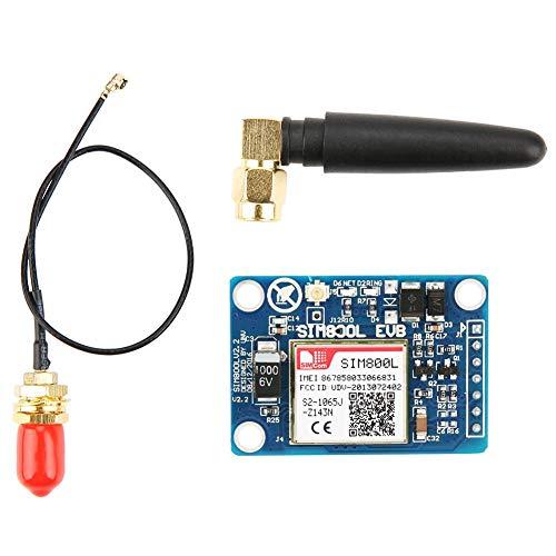 Hilitand SIM800L-Modul SIM-Karte 5V Wireless GPRS GSM SMS-Modul mit Antennenersatz für SIM900A