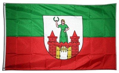 Flagge Deutschland Stadt Magdeburg - 90 x 150 cm