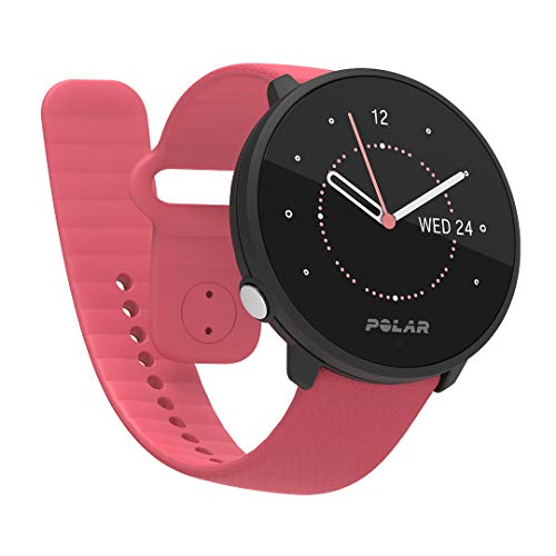 Polar Unite Fitness Watch Adulte Unisexe, Rose, S-L