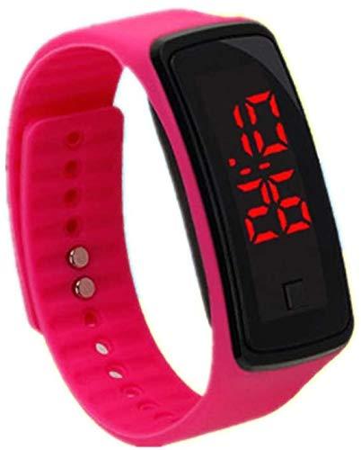 Lzdingli Silicona Gel Infantil LED Digital Reloj Pulsera