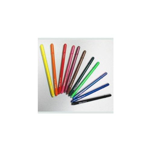 Fila Tratto Pen Metal Gial.830706 Penne con Punta in Fibra, Multicolore, 8000825830747