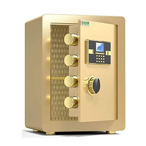 Cajas Fuertes de Seguridad Cajas Fuertes de Seguridad, Caja de depósito de contraseña electrónica para el hogar Incluye Llaves Oficina Hotel Joyas Gabinete de Almacenamiento para Uso en efec
