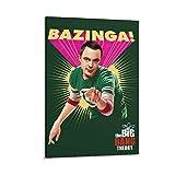YANGNA The Big Bang Theory Sheldon Cooper, Kunstdruck,