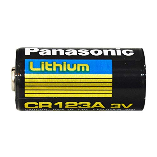 Panasonic Lithium CR123A 3V Photo Lithium Battery (Pack of 400)