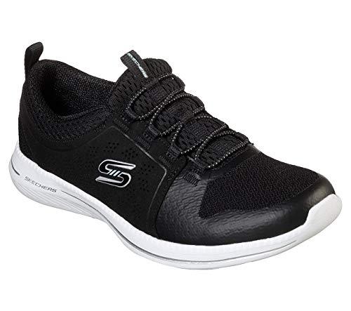 Skechers City Pro Good Humor - Zapatillas sin cordones para mujer, negro...