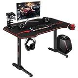 JUMMICO 44 inch Gaming Desk Raci...