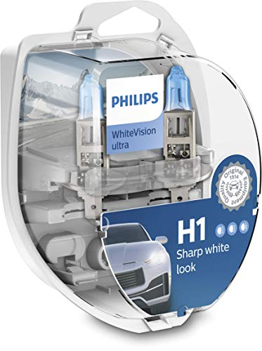 Philips WhiteVision ultra H1 Scheinwerferlampe, Doppelset
