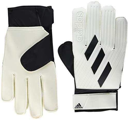 adidas Unisex-Adult Tiro Club Goalie Gloves White/Black 11.5