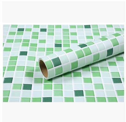 yuandp Zelfklevende keuken oliebestendige stickers waterdichte kachel kast badkamer tegel oude meubels renovatie marmer 60cm x 5m