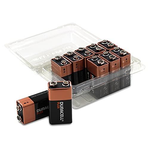 Duracell Plus Power More Power - Pilas alcalinas (9 V, MN 1604, 10 Unidades, en Caja)
