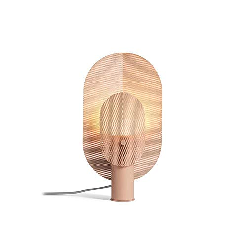 Lámpara de techo Lámpara después de la lámpara de mesita de noche creativa nórdica dormitorio de lujo de la sala de estar ligero arte moderno de la lámpara de escritorio del diseñador minimalista D21