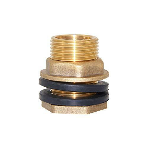Socket Slip 1-1//2-Inch PVC Bulkhead Low-Profile Strainer