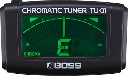 BOSS TU-01clip-on accordatore e metronomo