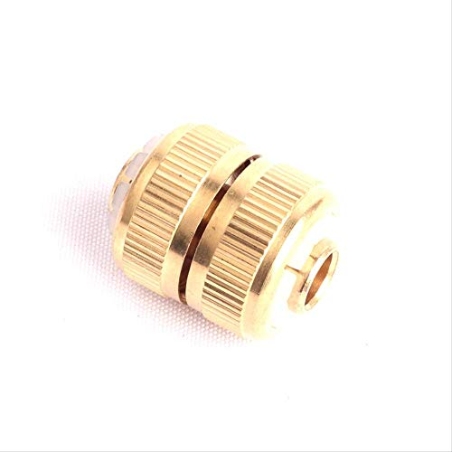 TIANFGKS Snelle connector 1 st 1/2 Inch Koper Connector Tuinslang Reparatie Connector Groene Duim Messing Snelle Koppeling Connector