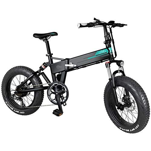 FIIDO M1 PRO 500W Bici Elettrica, Bicicletta Elettrica Pieghevole, Bicicletta Elettrica da Montagna con Batteria agli Ioni di Litio da 48V 12,8 Ah 40 km/h, Ricezione Entro 5-7 Giorni - Nero