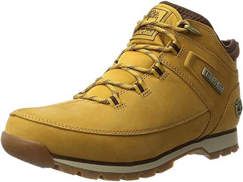 Timberland Herren Euro Sprint Hiker Chukka Boots, Braun (Wheat), 43 EU